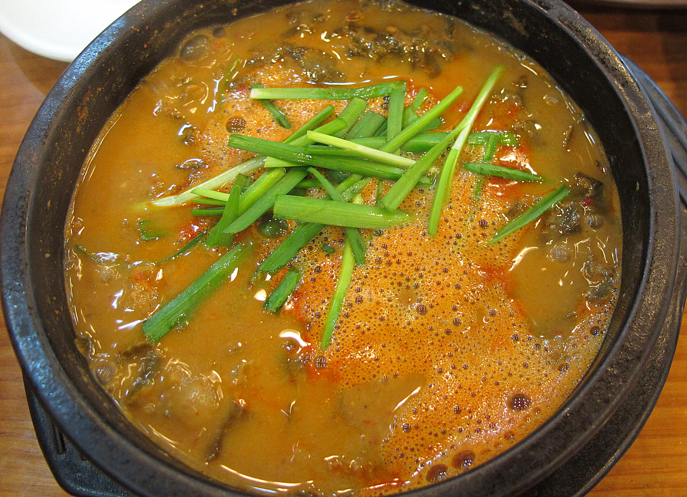 Korean Food: Stew, Chuotang 추어탕