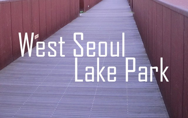West Seoul Lake Park, Seoul Korea