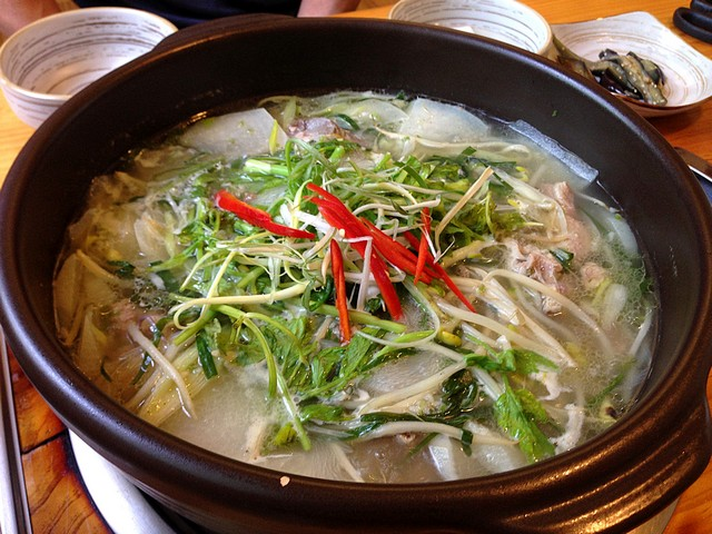 Korean Eating: Duck Stew