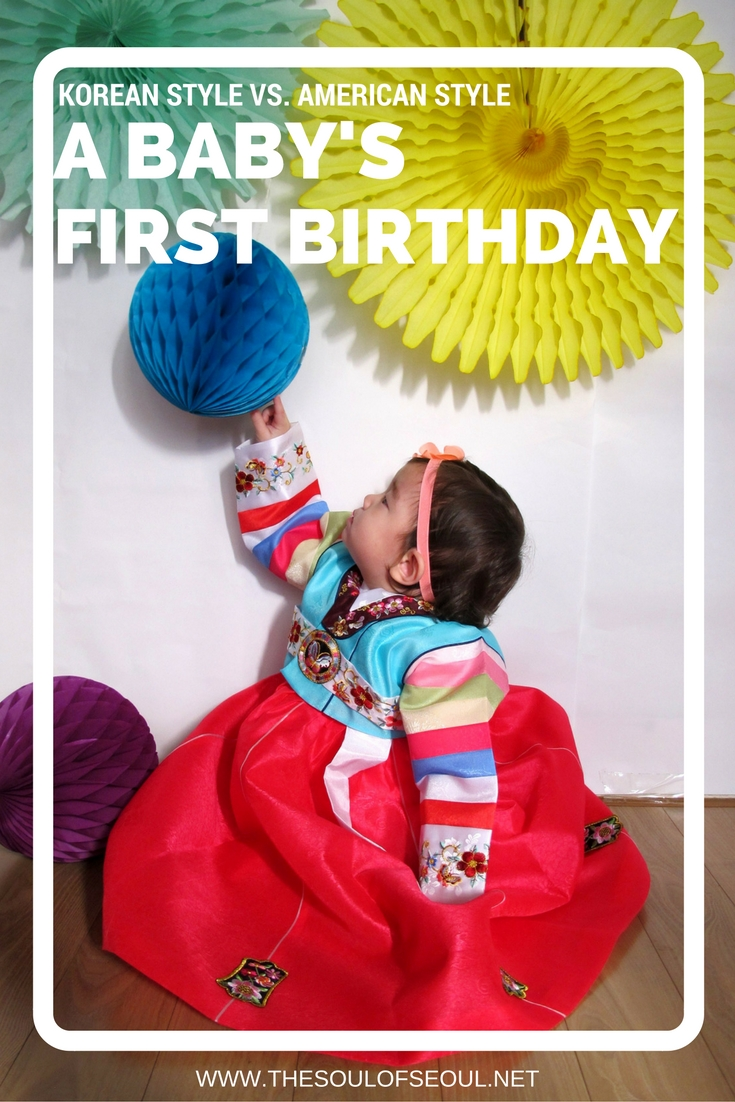 A Babys First Birthday Korean Style Vs American