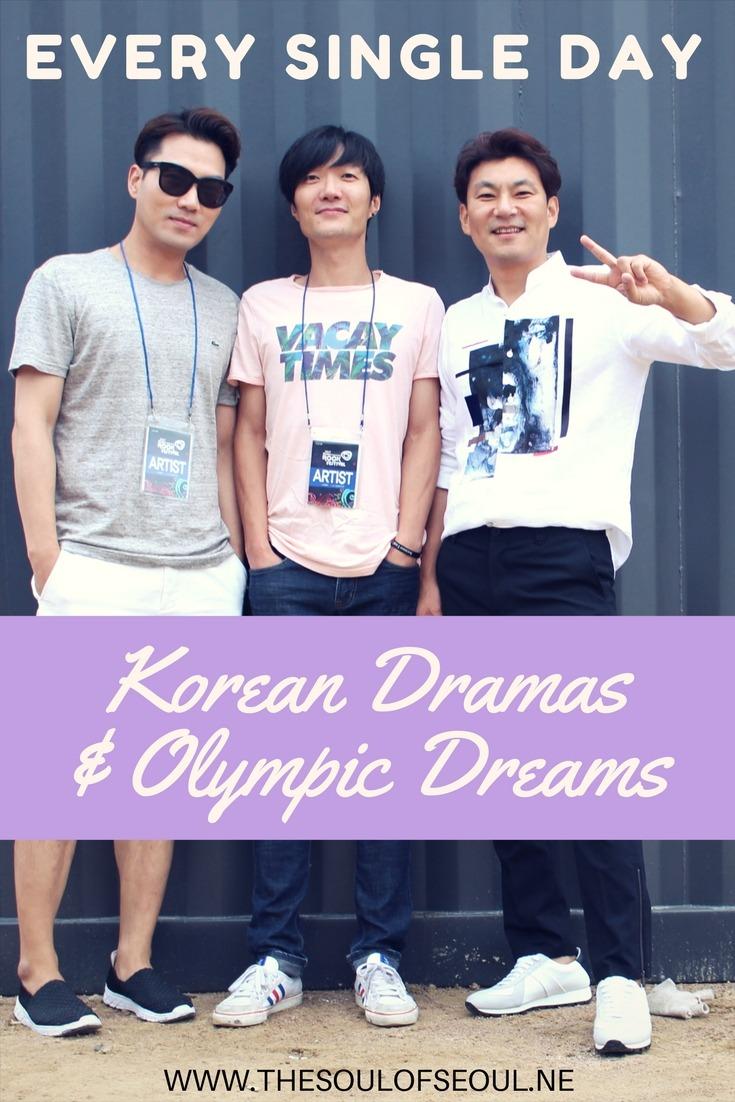 Every Single Day: Korean Dramas & Olympic Dreams